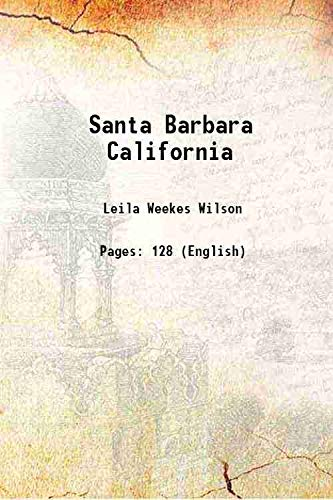 9789333669016: Santa Barbara California [Hardcover]