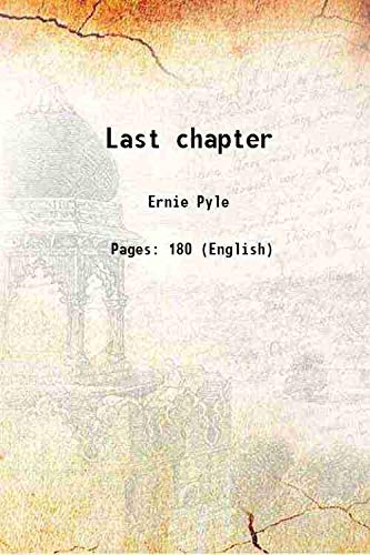 9789333675208: Last chapter 1946 [Hardcover]