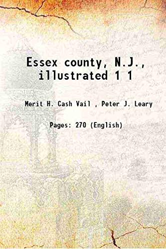 9789333678636: Essex County, N.J., Illustrated [Hardcover]