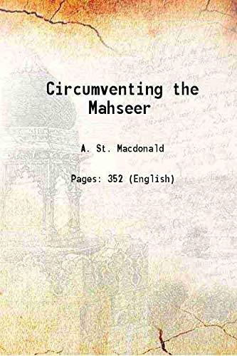 9789333698764: Circumventing the Mahseer [Hardcover]
