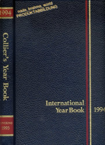 9789339173111: P.F. Collier's 1993 International Year Book: Covering the Year 1992 (Yearbook 1993)
