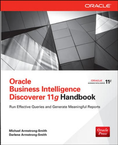 9789339203993: ORACLE BUSINESS INTELLIGENCE DISCOVERER 11G HANDBOOK