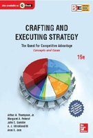 9789339204082: Crafting and Executing Strategy: Concepts and Cases