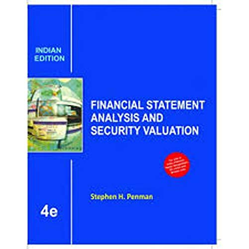 9789339204693: Financial Statement Analysis and Security Valuation