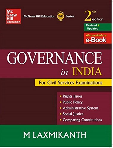 GOVERNANCE IN INDIA (2ND \ E): LAXMIKANTH