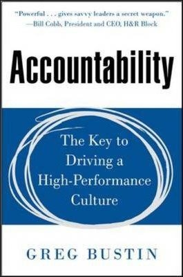 9789339205072: Accountability The Key To Driving A High-performance Culture