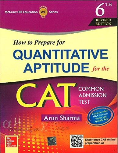 How To Prepare For Quantitative Aptitude For Cat: Sharma