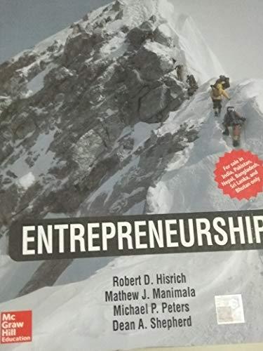 9789339205386: Entrepreneurship