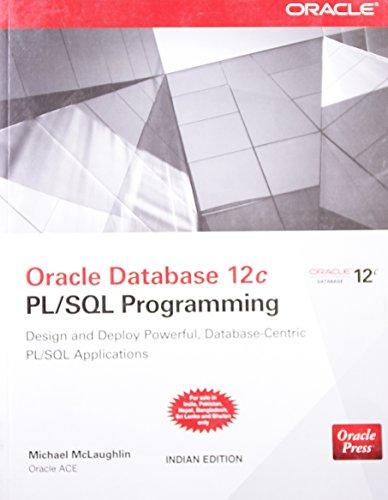 9789339213046: Oracle Database 12c PL/SQL Programming