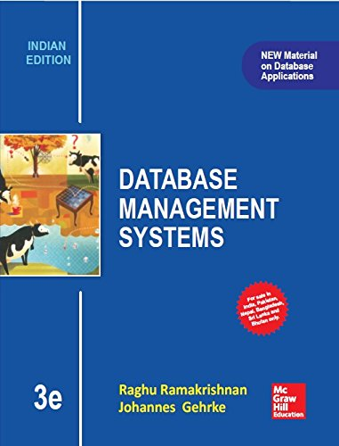 9789339213114: Database Management Systems, 3rd ed.
