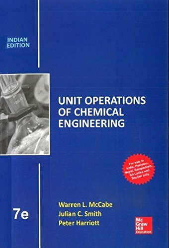Unit Operations of Chemical Engineering (Seventh Edition)