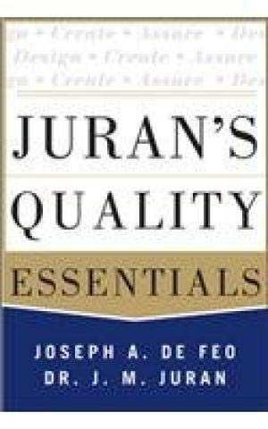 9789339214333: JURAN'S QUALITY ESSENTIALS FOR LEADERS 1ST EDITION
