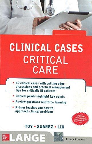 Case Files Critical Care de Eugene Toy, Terrence Liu