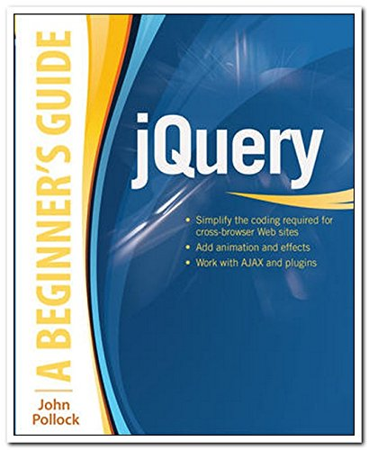 9789339218133: jQuery: A Beginner's Guide