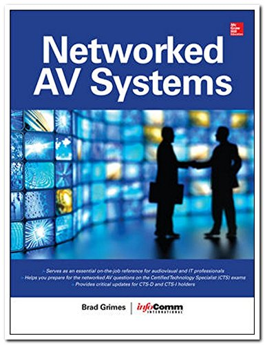 9789339218140: NETWORKED AUDIOVISUAL SYSTEMS