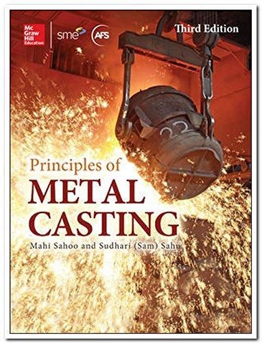 9789339218164: Principles of Metal Casting (3rd Ed.) by Mahi Sahoo (2014-07-31)