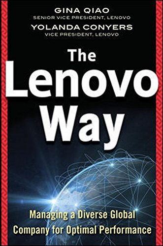 9789339218522: LENOVO WAY: MANAGING A DIVERSE GLOBAL COMPANY FOR OPTIMAL PERFORMANCE