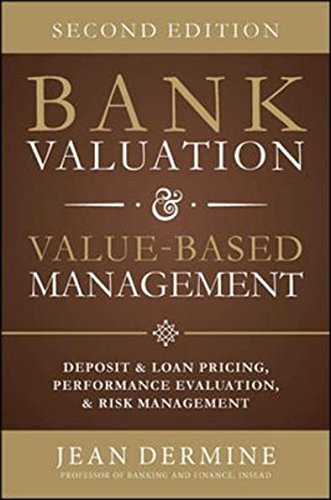 9789339219369: Bank Valuation and Value Based Management: Deposit and Loan Pricing, Performance Evaluation, and Risk, 2nd Edition