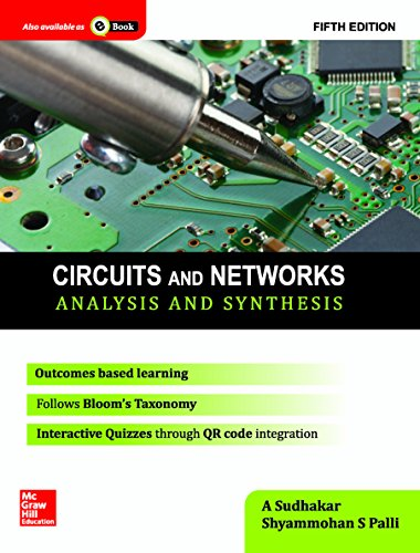 Circuits And Networks: Analysis And Synthesis, 5Ed: Sudhakar