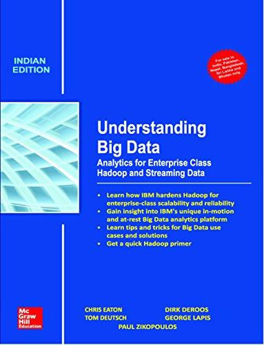 9789339221270: Understanding Big Data: Analytics For Enterprise Class Hadoop And Streaming Data, 1Ed