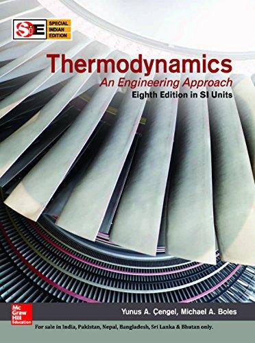 Thermodynamics An Engineering Approach: Boles, Cengel
