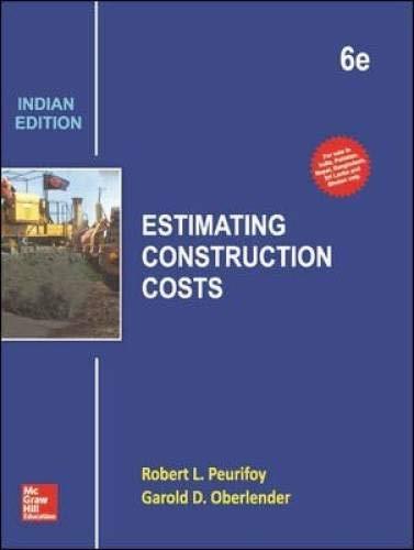 9789339221911: Estimating Construction Costs