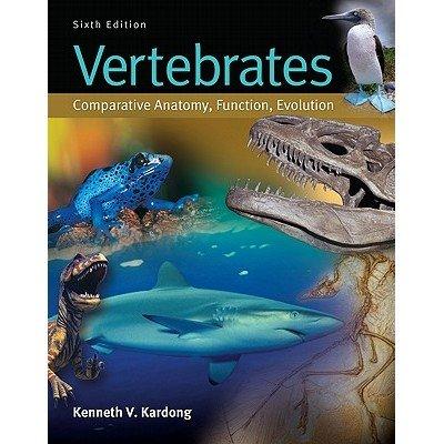 9789339222116 Vertebrates Comparative Anatomy Function Evolution
