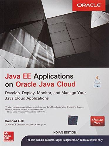 9789339222130: Java Ee Applications On Oracle Java Cloud