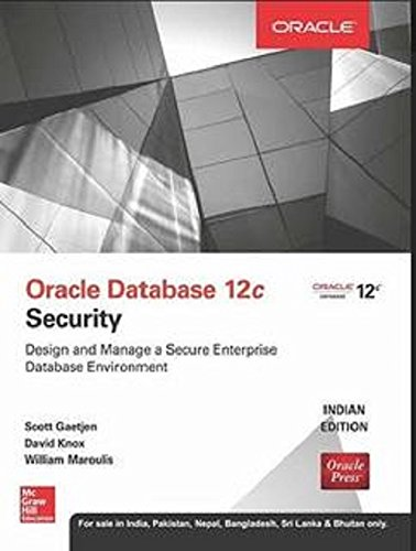 9789339222185: Oracle Database 12C Security