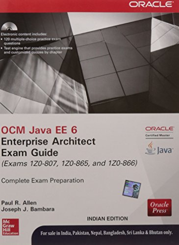9789339222222: Ocm Java Ee 6 Enterprise Architect Exam Guide