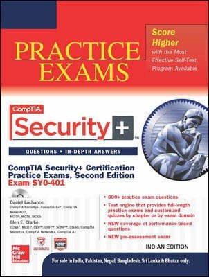 9789339222284: Comptia Security+ Certification Practice Exams: (Exam Sy0-401)