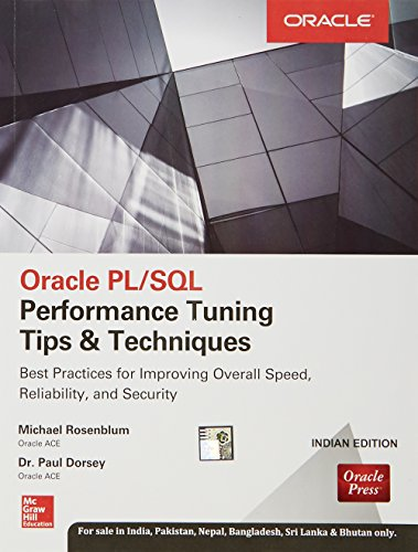 9789339222369: Oracle Pl/Sql Performance Tuning Tips & Techniques