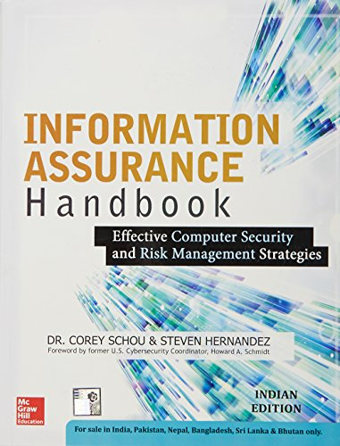9789339222376: Information Assurance Handbook: Effective Computer Security And Risk Management Strategies