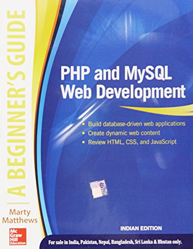 9789339222390: Php And Mysql Web Development: A Beginners Guide
