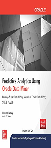 9789339222512: Predictive Analytics Using Oracle Data Miner