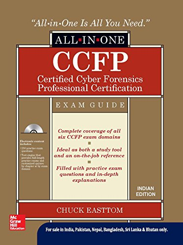 9789339222529: Ccfp Certified Cyber Forensics Professional Certification All-In-One Exam Guide