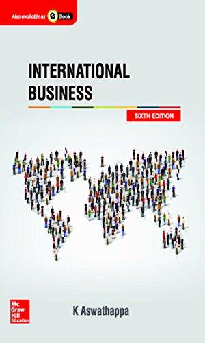 International Business: K. Aswathappa