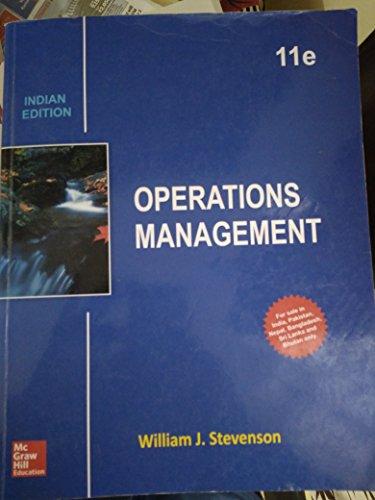9789339224387: Operations Management