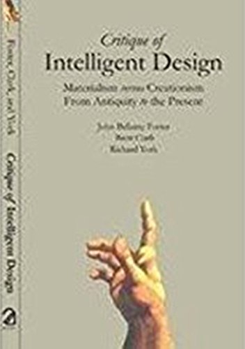 9789350020302: Critique of Intelligent Design : Materialism Versus Creationism; From Antiquity to the Present