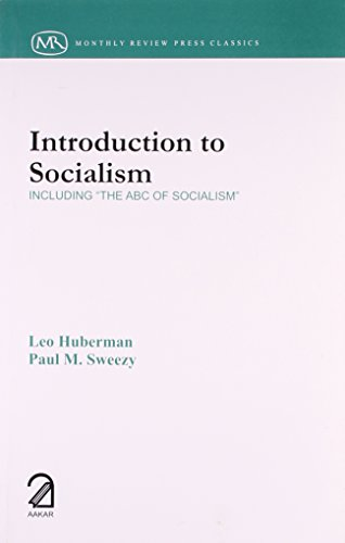 9789350020746: Introduction to Socialism: Including The ABC Of Socialism