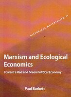 9789350022115: Marxism and Ecological Economics: Toward a Red and Green Political Economy