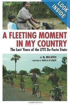 9789350022290: A Fleeting Moment in My Country : The Last Years of the LTTE De-Facto State
