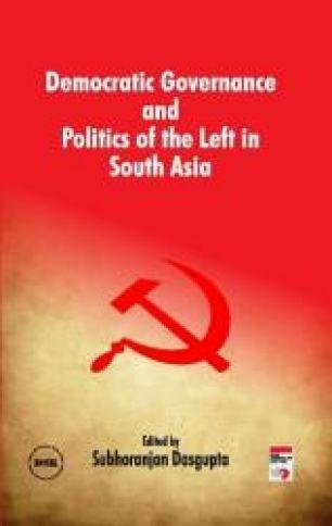 Democratic Governance and Politics of the Left in South Asia: Subhoranjan Dasgupta