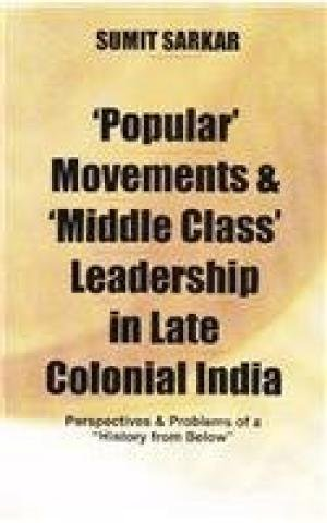 `Popular` Movements & `Middle Class` Leadership in Late Colonial India: Perspectives & ...