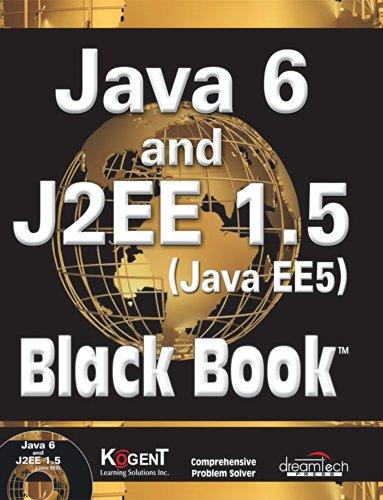9789350040096: Java 6 and J2EE 1.5 Black Book, w/CD