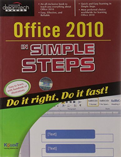 9789350040836: Office 2010 in Simple Steps (English)
