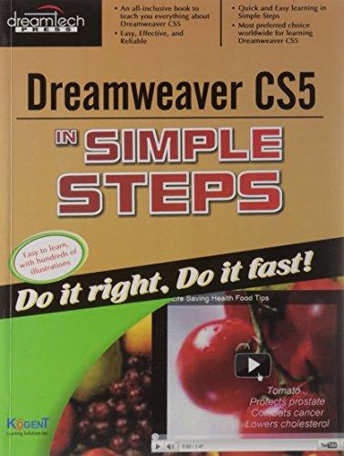 Dreamweaver CS5 In Simple Steps: Kogent Learning Solutions