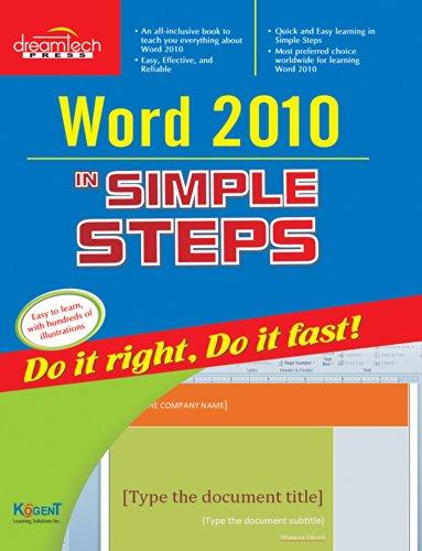 Word 2010 in Simple Steps: Kogent