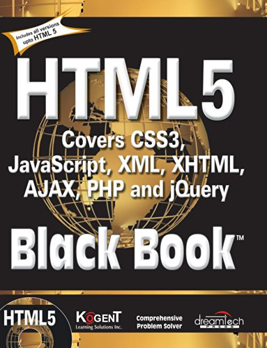 9789350040959: HTML5 BLACK BOOK: COVERS CSS3, JAVASCRIPT, XML, XHTML, AJAX, PHP AND JQUERY