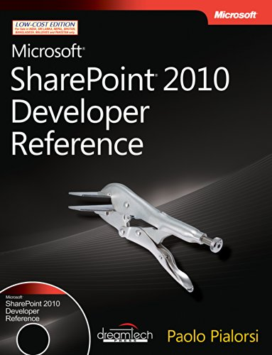 9789350041130: MICROSOFT SHAREPOINT 2010 DEVELOPER REFERENCE